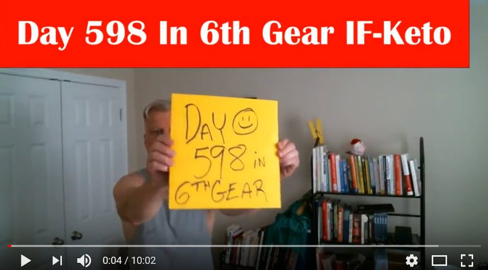 Day 598 In 6th Gear IF-Keto