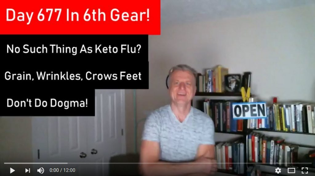 Day 677 and Keto Flu