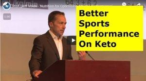 Better Sports Performance On Keto