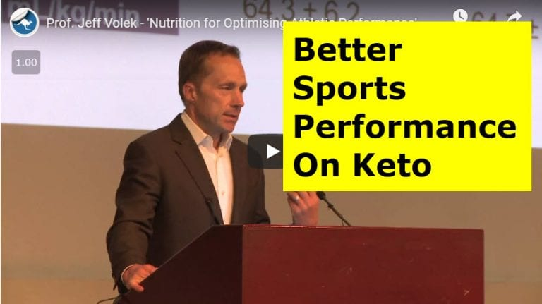 Better Sports Performance On Keto