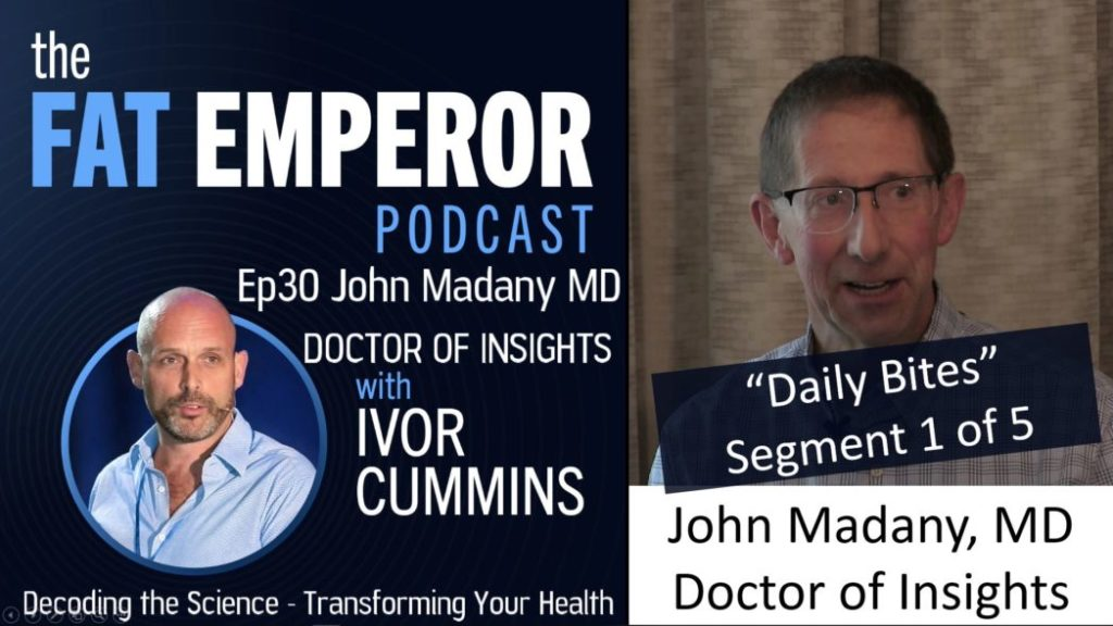 Ivor Cummins and Dr. John Madany