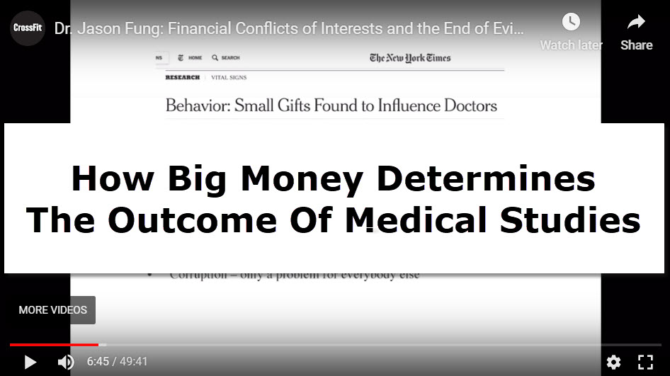 big money in medical studies