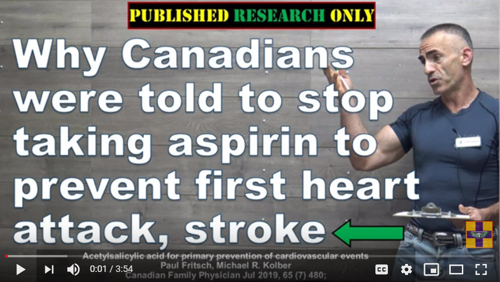 Aspirin Does More Harm Than Good