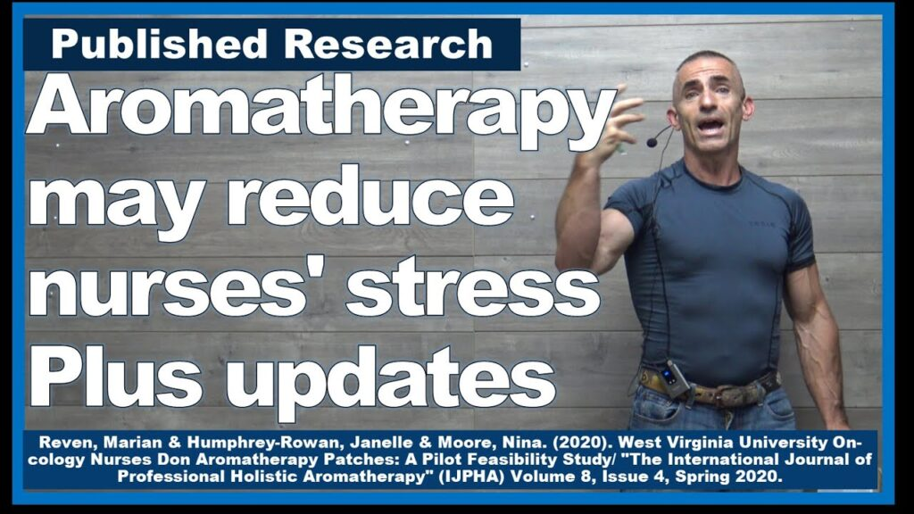 Aromatherapy shown to reduce stress and anxiety, possibly in new study.