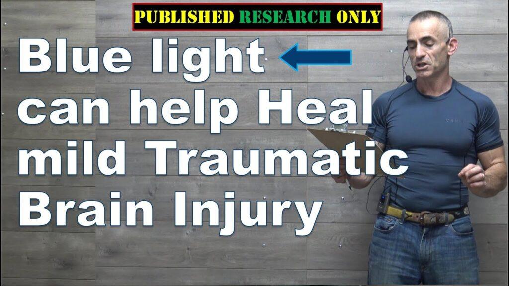 Blue light can help heal mild traumatic brain injury