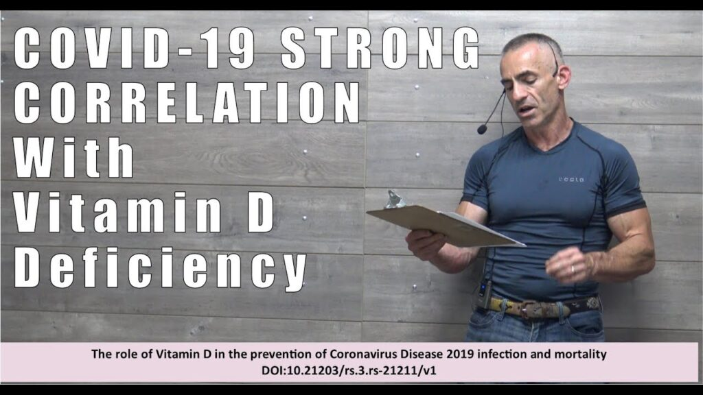 COVID-19 STRONG CORRELATION WITH VITAMIN D DEFICIENCY