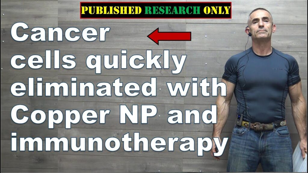 Copper nanoparticles and immunotherapy rapidly eliminate cancer cells – Pilot Study