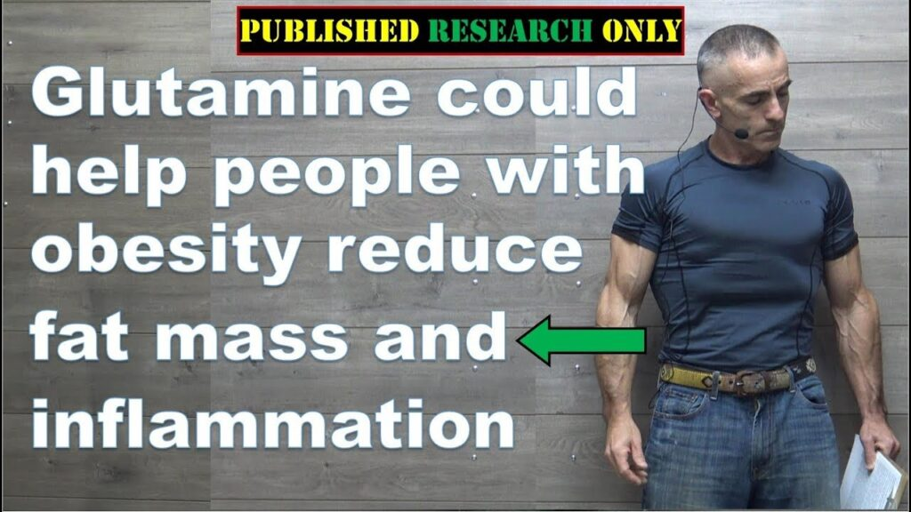 Glutamine could help people with obesity reduce fat mass and inflammation