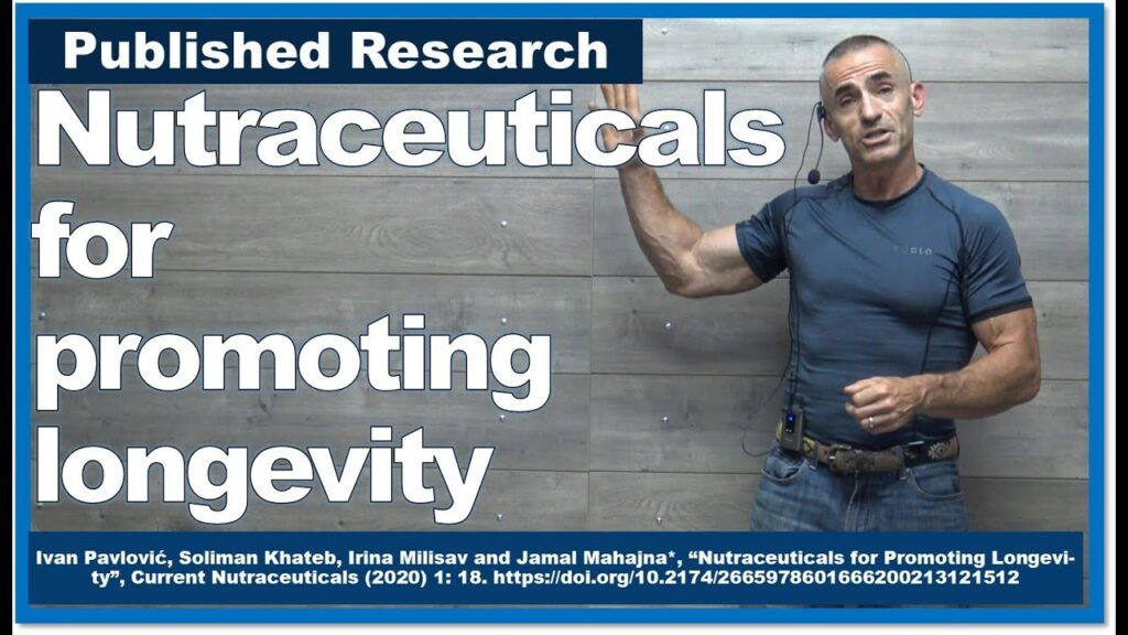 Nutraceuticals for promoting longevity